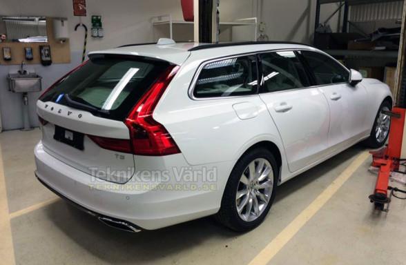 Tył nowego Volvo V90
