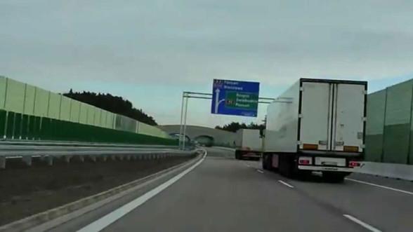 A2 - przejazd po autostradzie