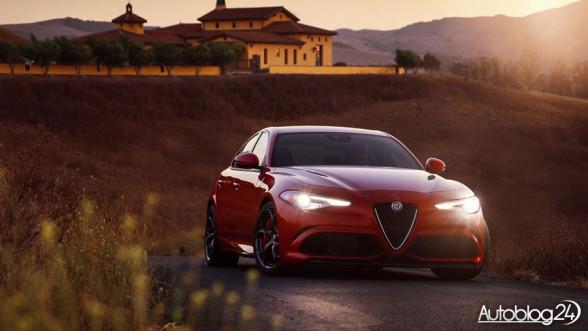 Przód modelu Alfa Romeo Giulia