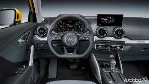 Audi Q2 - wnętrze