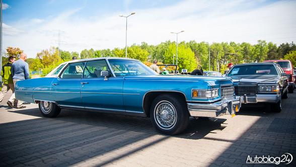 Auto Nostalgia - Cadillac na wystawie