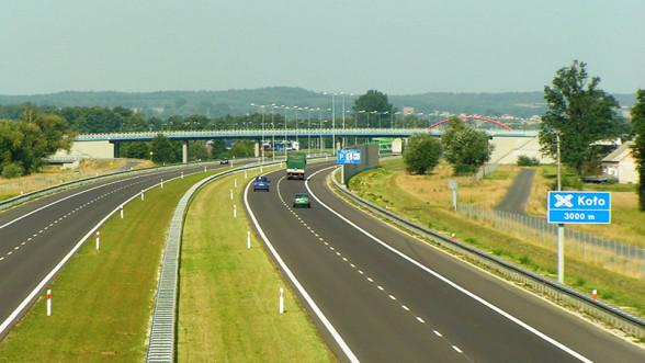 Autostrada A2 - węzeł Koło