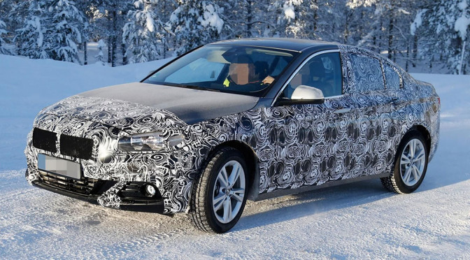 Nowe BMW Serii 1 Sedan (F52) – informacje i zdjęcia szpiegowskie. Czas na ruch Bawarczyków