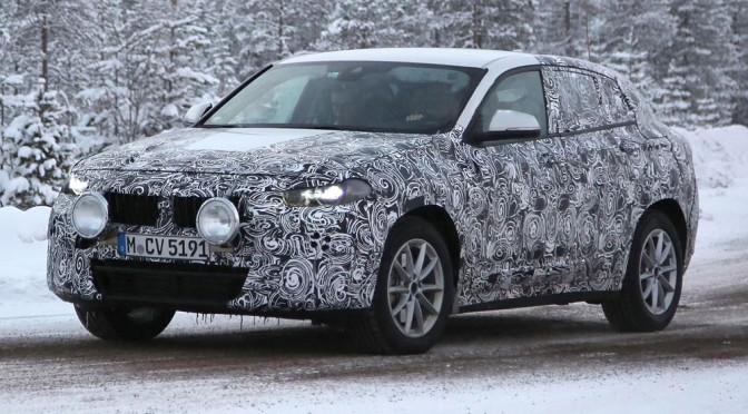 BMW X2 (F39) – zdjęcia szpiegowskie i informacje rzucają więcej światła na nowego małego SUV'a z Bawarii