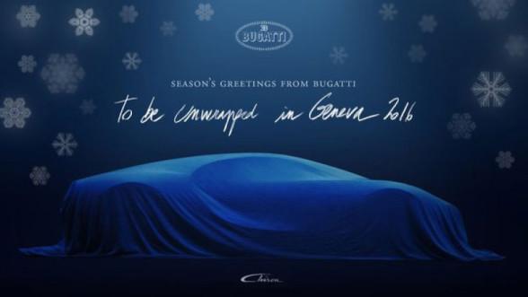 Bugatti Chiron - zapowiedź