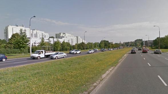 Dolina Służewiecka - druga najbardziej zatłoczona ulica w Warszawie