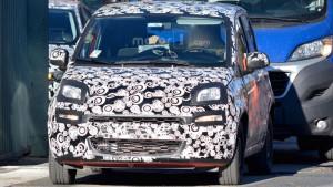 Fiat Panda facelifting (2017) - przód samochodu