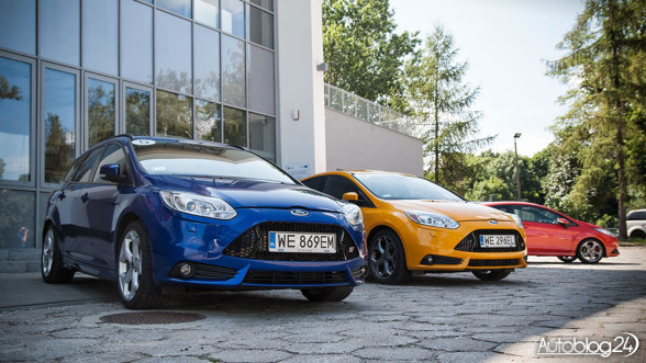 Ford Focus ST - benzyna