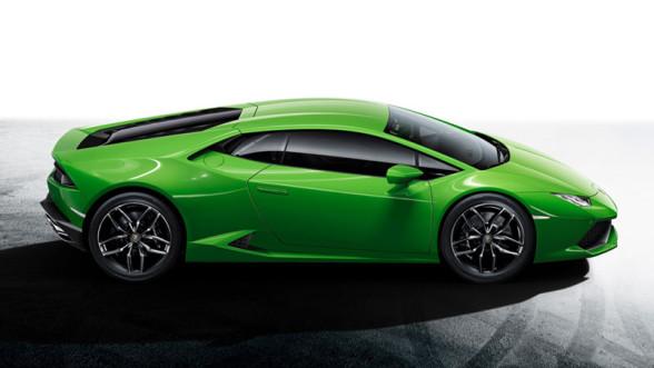 Lamborghini Huracan - niezwykła linia boczna