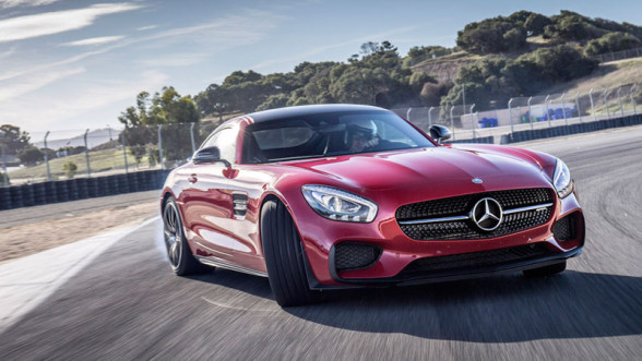 Mercedes AMG-GT S - najbardziej sportowe auto tego producenta