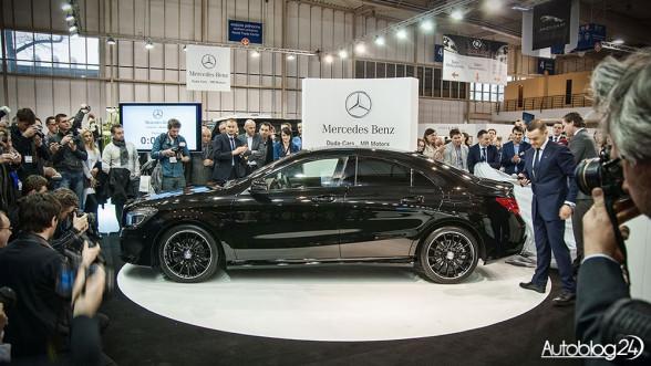 Mercedes CLA - premiera na Poznań Motor Show 2013