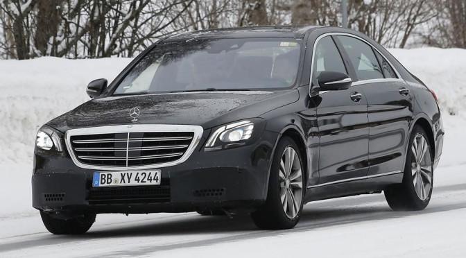 Mercedes Klasy S (W222) facelifting 2017 – zmiany, zdjęcia szpiegowskie, informacje