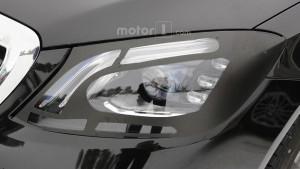 Mercedes Klasy-S W222 facelifting - światła LED