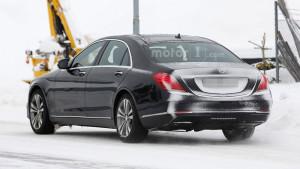 Mercedes Klasy-S W222 facelifting - tył
