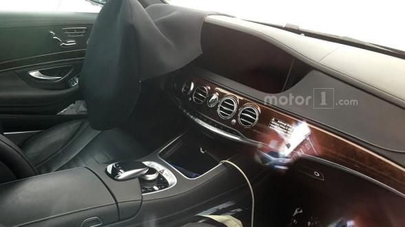 Mercedes Klasy-S (W222) facelifting 2017 - wnętrze