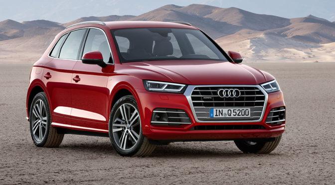 Nowe Audi Q5 (2017) – zdjęcia, zmiany, silniki i inne informacje. Mały SUV upodabnia się do większego