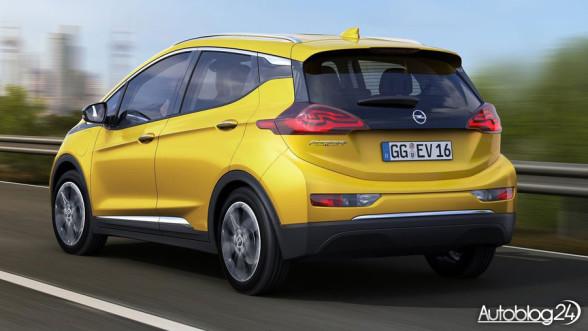 Opel Ampera-e - tył samochodu