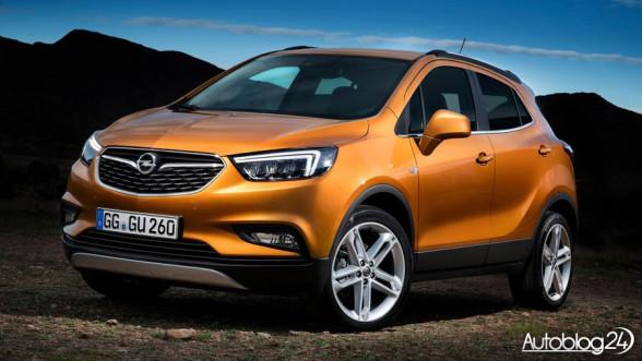 Nowy Opel Mokka X - przód samochodu po faceliftingu