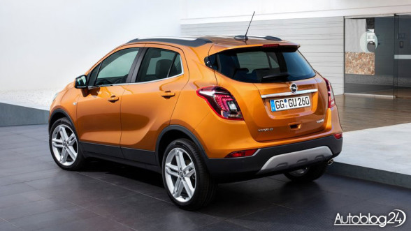 Opel Mokka X - tył