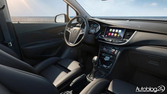 Opel Mokka X - nowe wnętrze