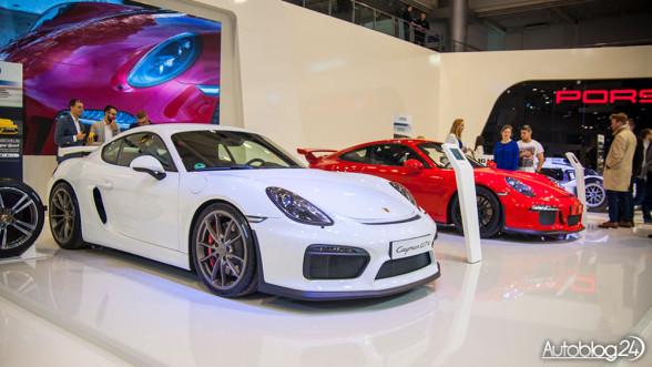 Porsche na Poznań Motor Show 2015