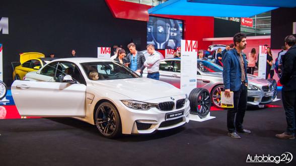 Poznań Motor Show 2015 - stoisko BMW