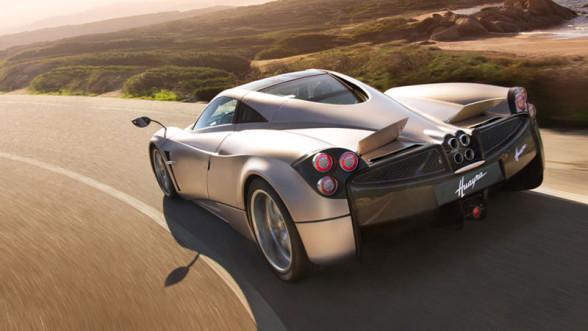 Pagani Huayra - najszybszy samochód na torze testowym Top Gear