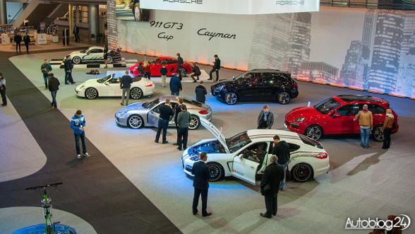 Poznań Motor Show - stoisko Porsche na targach