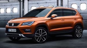 Seat Ateca – zdjęcia i informacje o silnikach w nowym SUV'ie Hiszpanów