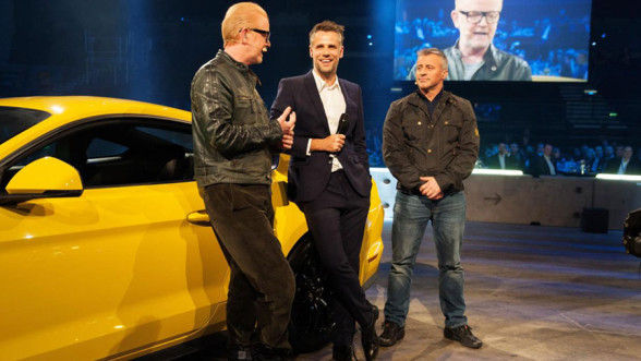 Top Gear na BBC Showcase