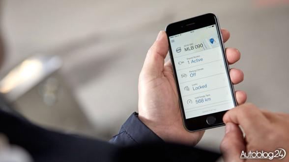 Volvo aplikacja na iPhone