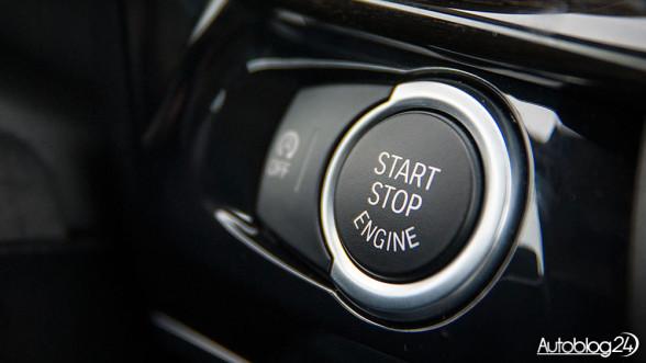 BMW - przycisk Start-Stop