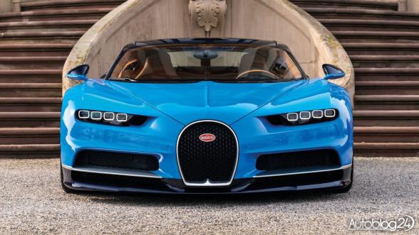 Nowe Bugatti z 2016 roku
