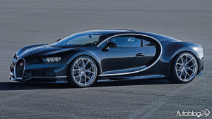 Bugatti Chiron - bok