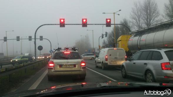 Czewone światło - autostrada A1