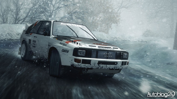DiRT Rally - Audi Quattro