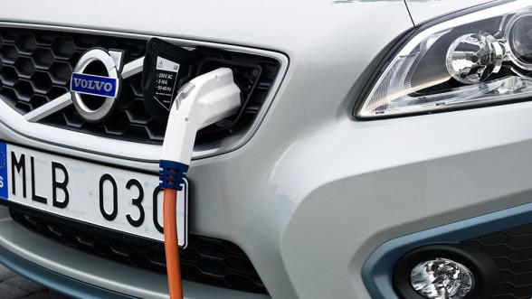 Elektryczne Volvo
