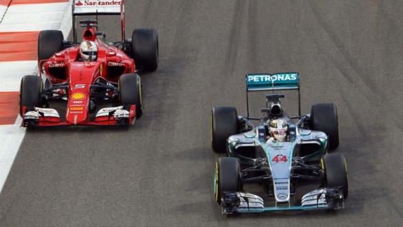 Formula 1 - Ferrari i Mercedes