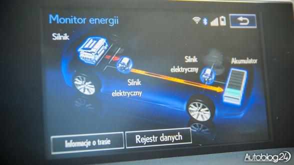 Lexus NX 300h - układ hybrydowy