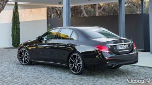 Mercedes AMG E43 4MATIC - tył