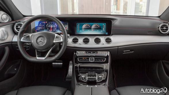 Mercedes AMG E43 4MATIC - wnętrze