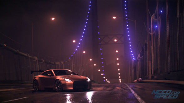 Nissan 370Z w Need for Speed 2015