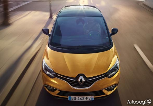 Nowe Renault Scenic - przód