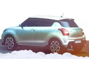Nowe Suzuki Swift 5 (2017) - tył