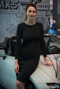Poznań Motor Show 2016 - hostessy - Mazda