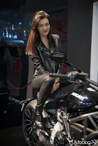 Poznań Motor Show 2016 - hostessy - Ducati