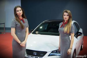Poznań Motor Show 2016 - hostessy - Seat