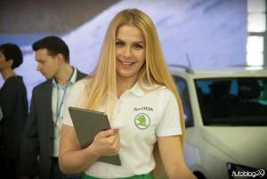 Poznań Motor Show 2016 - hostessy - Skoda