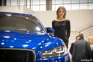 Poznań Motor Show 2016 - hostessy - Jaguar