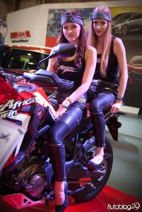Poznań Motor Show 2016 - hostessy - na motorze